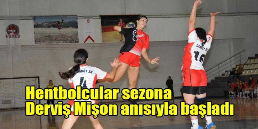 Hentbol start aldı